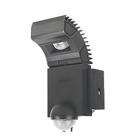 Osram Noxlite LED Spotlight with Sensor 1 x 8W Black