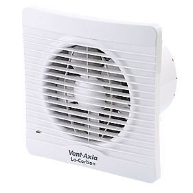 Vent-Axia Sihouette 150T Axial Kitchen Timer Extractor Fan 20W