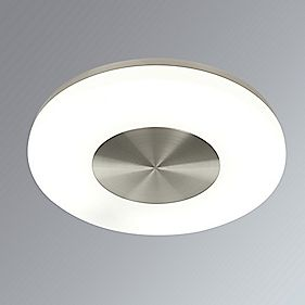 Polar Ceiling Light Brushed Chrome 40W