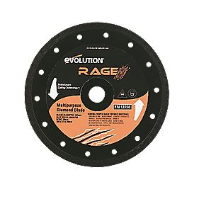 Evolution Rage Diamond Blade 185mm