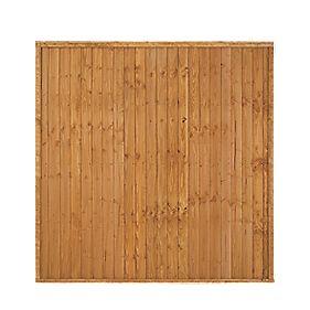 Larchlap Closeboard Fence Panels 1.8 x 1.8m