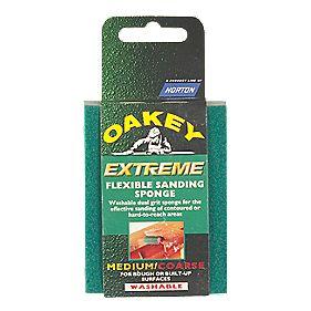 Oakey Extreme Flexible Sanding Sponge