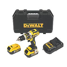 DeWalt DCD795P2 18V 5.0Ah Li-Ion XR Cordless Brushless Combi Drill