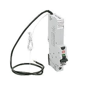 WYLEX 40A 30mA SP Type C Curve RCBO