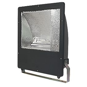 Trac UMA-Maxi Metal Halide 250W Asymmetric Floodlight & Photocell