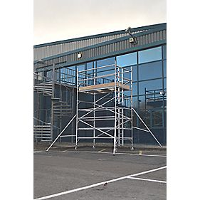 Lyte SF25DW32 Helix Double Width Industrial Tower 3.2m