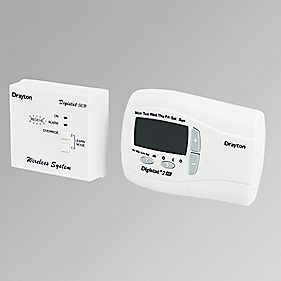 Drayton Digistat + 2RF Room Thermostat