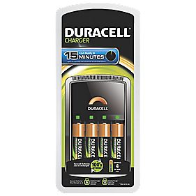 Duracell 15 Minute AA/AAA Battery Charger
