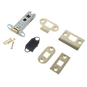 Eurospec Tubular Mortice Latch Electro Brass 76mm
