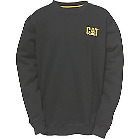 CAT C1910752 Trademark Crew Top Black XXL