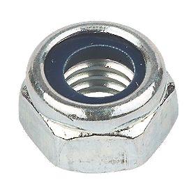 Nylon Insert Nuts BZP Steel M3 Pack of 100