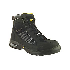 CAT KAUFMAN SAFETY BOOT BLACK SIZE 8