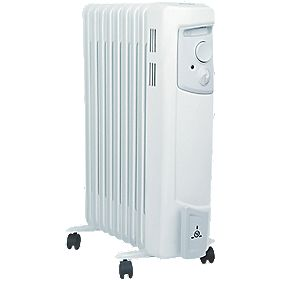 Dimplex OFC2000 Oil-Filled Portable Convector Radiator 2000W