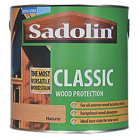 Sadolin Classic Woodstain Natural 2.5Ltr
