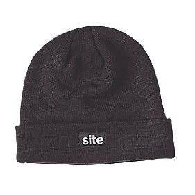 Site Thinsulate Knitted Hat Black