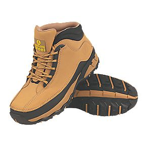 Amblers Steel Ladies Safety Boots Honey Size 8