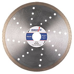 Marcrist CK650 Tile Cutting Diamond Blade 180 x 25.4mm