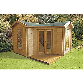 Finnlife Kolka Log Cabin 3.9 x 3.9 x 2.7m