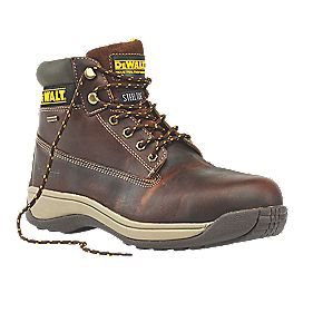 DeWalt Apprentice Galactic Safety Boots Tan Size 8