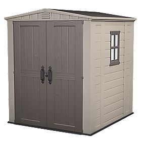 Keter Apex Shed Plastic 6 x 6 x 7' (Nominal)
