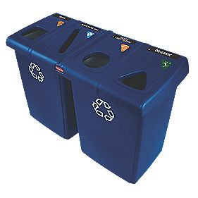 Rubbermaid Glutton Recycling Centre Ltr