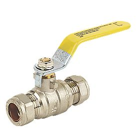 Full Bore Lever Ball Valve 15mm