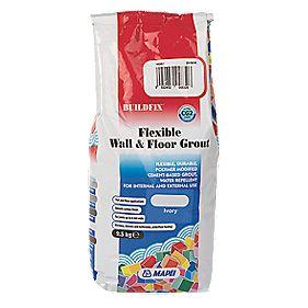 Mapei BuildFix Flexible Wall & Floor Grout Ivory 2.5kg