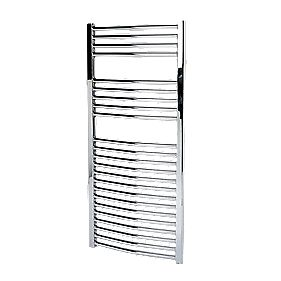 Kudox Flat Towel Radiator Chrome 500 x 1100mm 345W 1177Btu