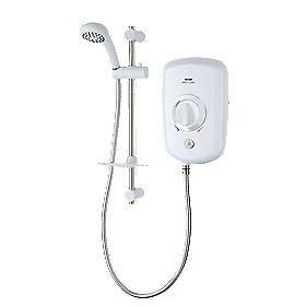 Triton Rapture Manual Electric Shower White 8.5kW