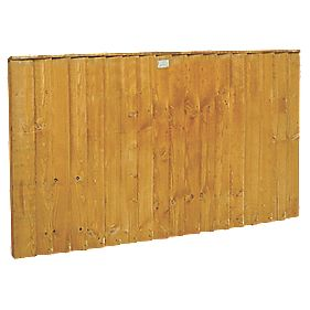 forest feather edge fence panels x 5 pack. Black Bedroom Furniture Sets. Home Design Ideas