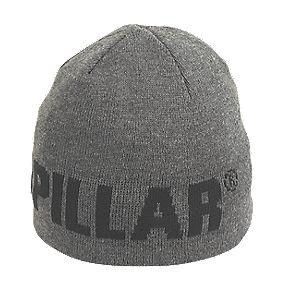 CAT Beanie Hat Grey / Black