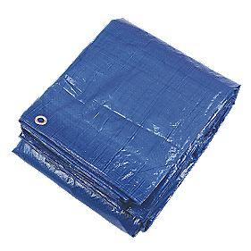 Blue Tarpaulin 3.43 x 5.15m