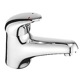 Francis Pegler Haze Bathroom Basin Mono Mixer Tap with Click Waste