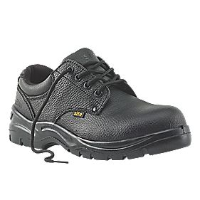Site Coal Safety Shoes Black Size 12