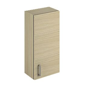 Bathroom Wall Unit Oak Slab 300 x 200 x 660mm