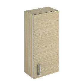 Bathroom Wall Unit Oak Slab 300 x 200 x 660mm