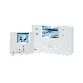 Drayton MiTime MT710R9K09SX Programmer and MiStat Wireless Room Thermostat