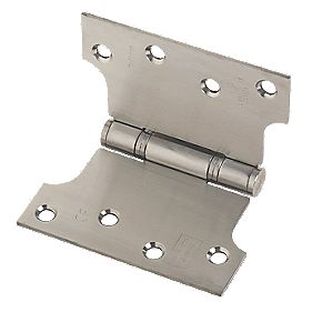 Eclipse Parliament Hinge Satin Stainless Steel 102 x 127mm Pack of 2
