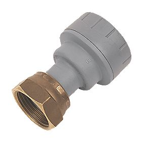 PolyPlumb Straight Tap Connector 22mm x ¾""
