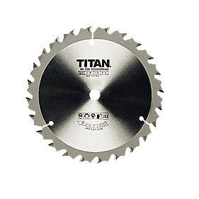 Titan TCT Circular Saw Blade 24T 250x16mm