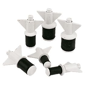 6 Nylon Drain Plugs
