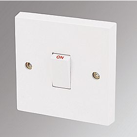 Marbo 20A DP Switch White