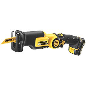 DeWalt DCS310S2-GB 10.8V 1.5Ah Li-Ion Cordless Reciprocating Saw