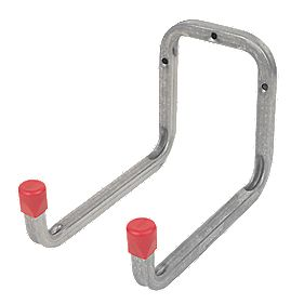 Heavy Duty Double Storage Hook Galvanised Steel 120 x 175mm