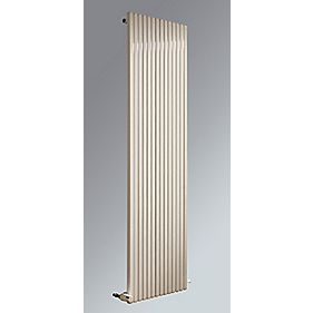 Espacio Square Vertical Designer Radiator White 1800 x 550mm 5068BTU