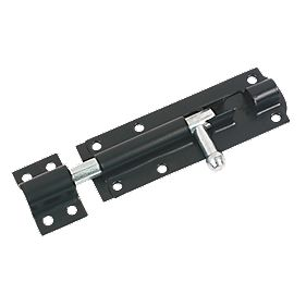 Tower Gate Bolt Black 102mm