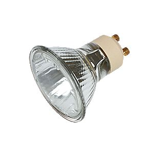 Sylvania GU10 Hi-Spot Superia Mains Voltage Halogen Lamp 50W Pack of 5