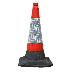 JSP Roadhog One-Piece Cone 750mm Pack of 4
