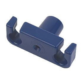 Cable Raiser Cable Holder Blue 50 x 100 x 40mm
