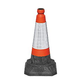 JSP Roadhog One-Piece Cones 500mm Pack of 5